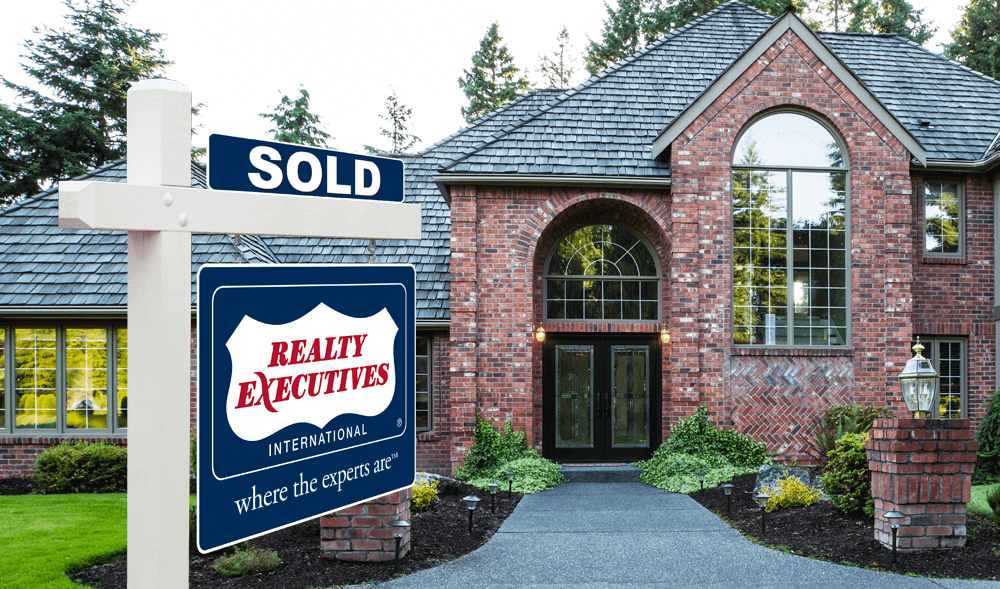 Realty Executives Sellers Sold Sign